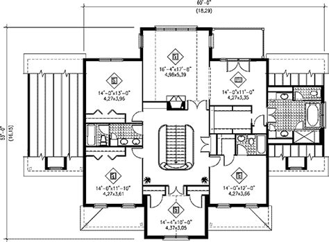 grand floor plans grand staircase 80426pm architectural designs house