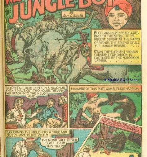 fiction house from pulps to panels from jungles to space books the comic book catacombs wambi the jungle boy in
