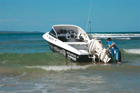 best boat trailer for beach launching how to beach launch a boat trade boats australia