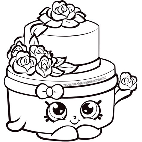 shopkins coloring pages cupcake queen shopkins colour color page cupcake queen shopkinsworld