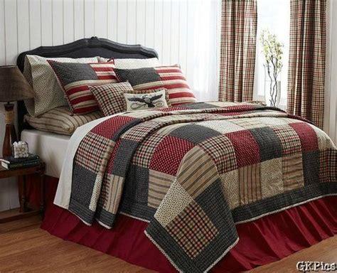 Primitive Crib Bedding Victory 4 Pc Patchwork Quilt Bedding Set Americana Primitive Gray