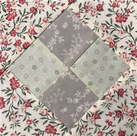 quilt pattern on point how to make a four patch on point quilt block using charm