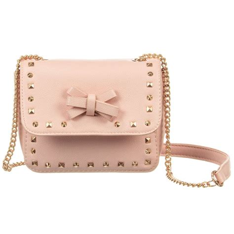 Stud Style Bag 7 mayoral pink stud bag 15cm childrensalon