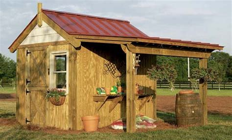 Potting Shed Designs Plans by Potting Shed Plans How To Build A Potting Shed And Keep