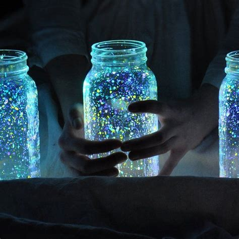 glow in the paint jar glitter 17 best ideas about glow paint on glow in