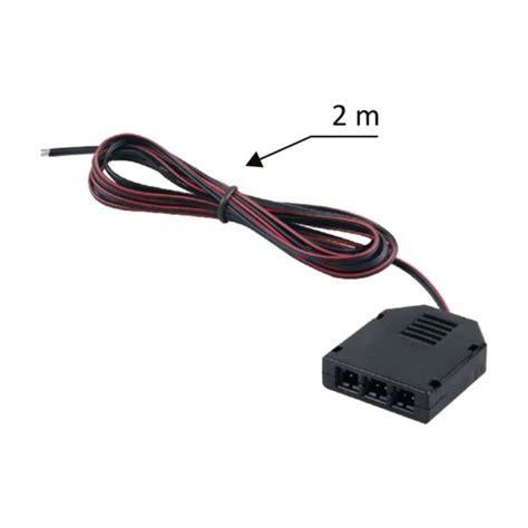 Led Kabel 12v led mini stecker kabel sensor buchse zubeh 246 r kabel leuchte le strahler ebay