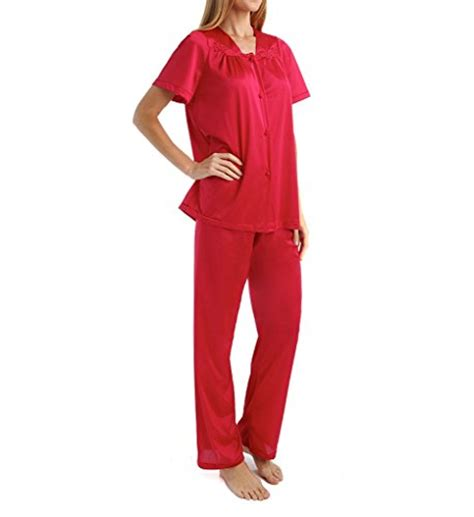 Vanity Fair Plus Size Pajamas vanity fair s sleepwear plus size colortura sleeve pajama