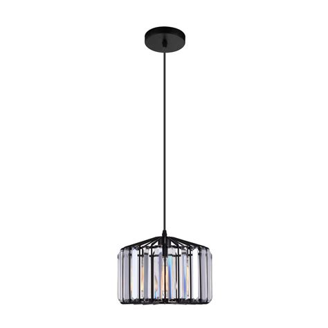 black crystal pendant light ove decors agnes ii 5 light black pendant agnes ii the