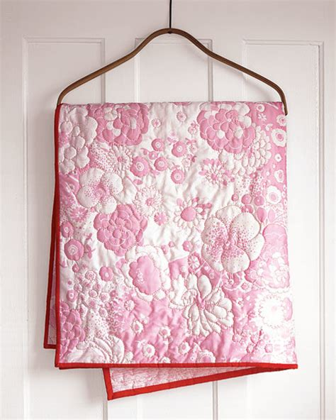 Last Minute Patchwork And Quilted Gifts - follow the lines baby quilt martha stewart