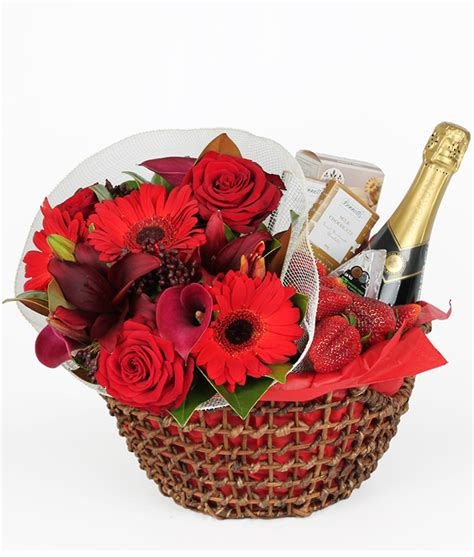 gifts nz indulgence gift basket flowers free auckland
