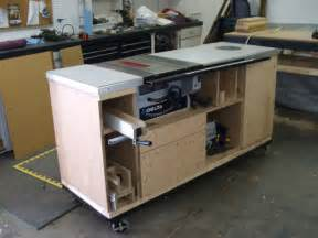 table saw work bench table saw storage all in one great that it is on wheels