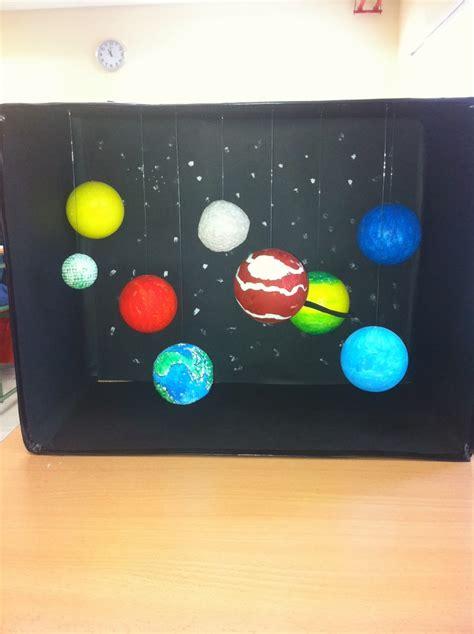 como hacer un planetario en una caja de zapatos la ciencia de la vida maquetas del sistema solar 2013