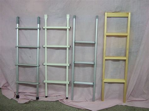 loft bed ladder wooden bunk bed ladder ladder for bunk bed stl step iges solidworks 3d cad model