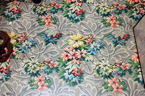 Area Rug On Tile Floor Beautiful Vintage Linoleum Pattern Flickr Photo Sharing