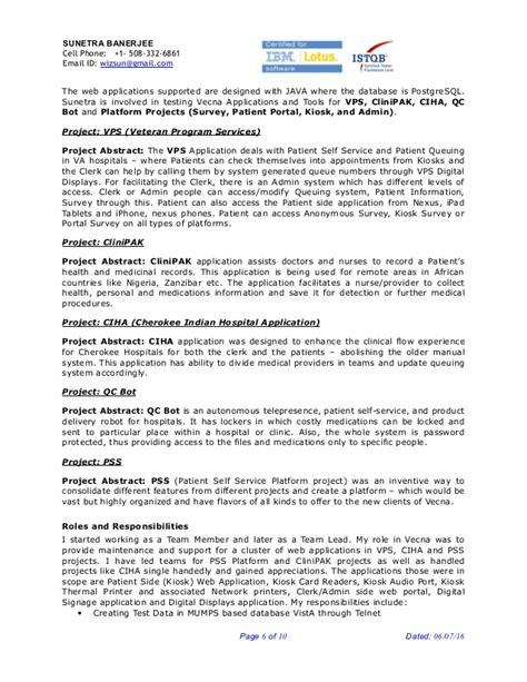 Qa Lead Resume
