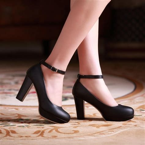 high heels thick ankle thick heels fs heel