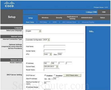 cisco login how to login to the cisco linksys e900