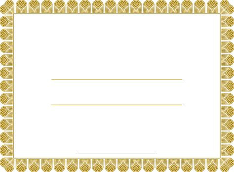 empty certificate template printable certificate templates new calendar template site