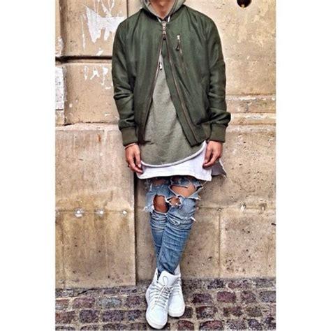 Jaket Bomber Hoodie Rocafella Green Army jacket bomber jacket menswear green jacket army green