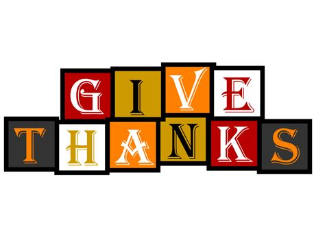Give Thanks Clipart free clipart n images give thanks banner