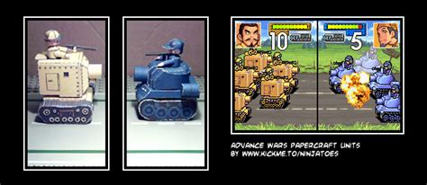 Advance Wars Papercraft - advance wars papercraft by ninjatoespapercraft on deviantart