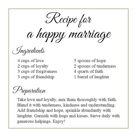 A Marriage Free 7 Best Images About Marriage Recipe On Home Happily After And Bridal Shower