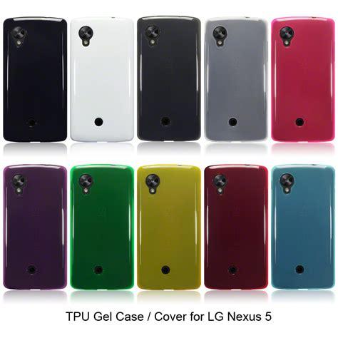 Back Cover Casing Belakang Lg Nexus 5 10 colours tpu gel jelly back cover for new lg nexus 5 ebay