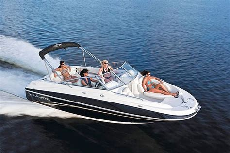 small boat on yacht motor boat for water skiing tubing fishing everything