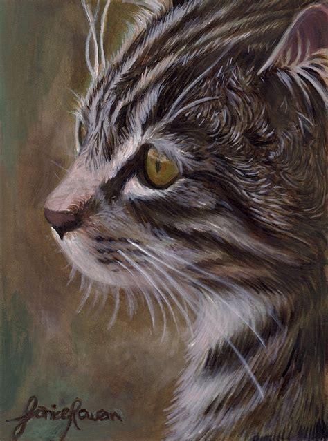 cat painting cat painting by eternal drift on deviantart