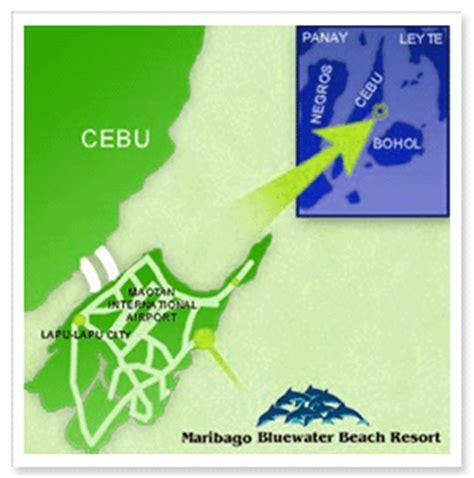 palm resort cebu map maribago bluewater resort cebu