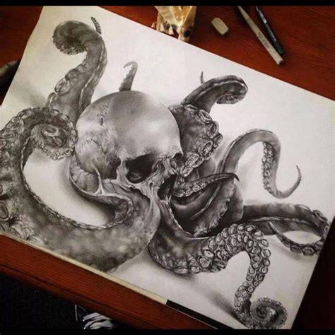 skull octopus tattoo 45 octopus skull designs and ideas