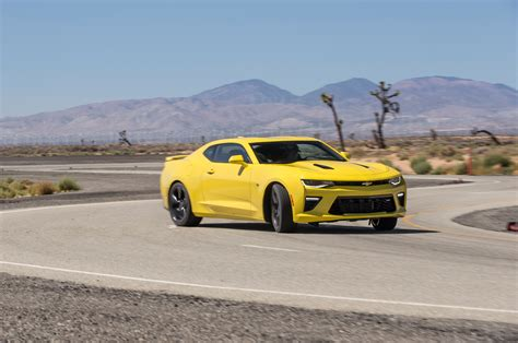 chevy camaro rs vs ss 2016 chevrolet camaro ss test motor trend