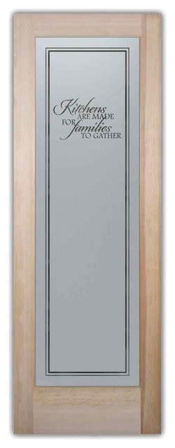 24 X 80 Pantry Door pantry door family kitchen etched glass door 24 x 1 375 x 80 traditional pantry and cabinet