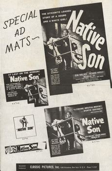 themes used in the novel native son university of mississippi archives and special collections