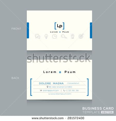 search business card template namecard stock images royalty free images vectors
