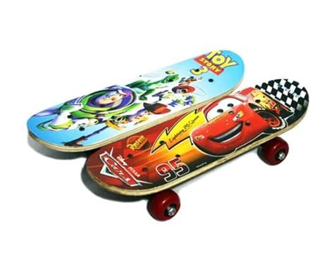 Skate Board Anak Papan Seluncur Ukuran Kecil jual papan seluncur skateboard anak ukuran kecil motif kartun hobby sport