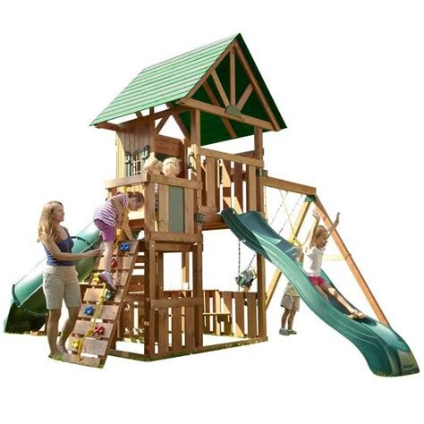 swing set kit backyard playground and swing sets ideas backyard play