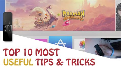 10 great tips and tricks to remember that will make top 10 useful tips and tricks for apple tv 4th gen youtube