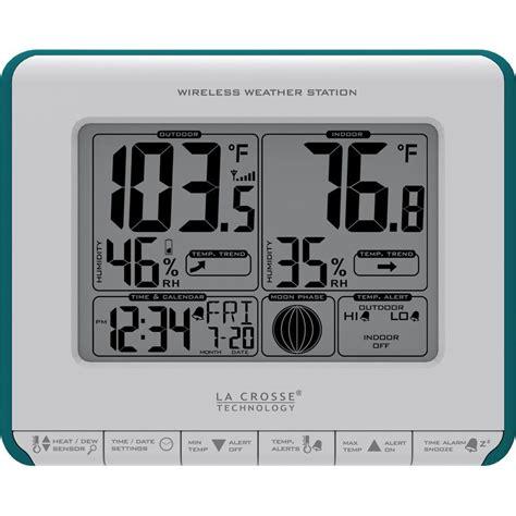 la crosse technology wireless weather station with heat