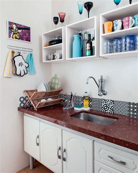Small Full Bathroom Ideas apartamento pequeno de 46 m2 233 decorado com economia e bom
