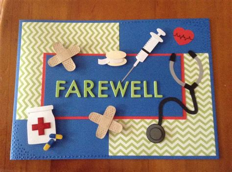 Handmade Farewell Cards - handmade farewell card for a my handmade cards