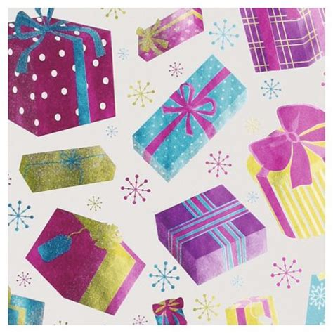 buy tesco bright foil presents christmas wrapping paper