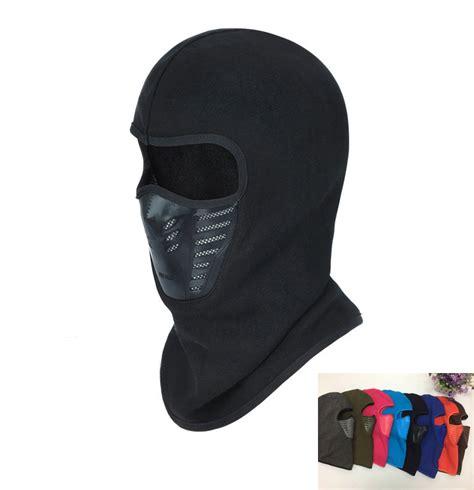 Special 4 In 1 Thermal Fleece Balaclava Masker Kupluk Pol winter warm hat motorcycle windproof mask hat neck