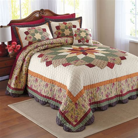 Quilted Bedspreads The Presence Of Bedspread Designs For Satisfaction