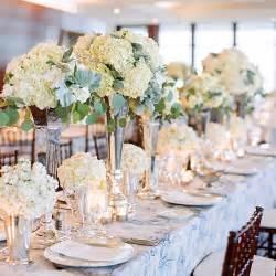 Glass Eiffel Tower Vases Tall Vase Centerpieces With Hydrangeas Wedding Flowers