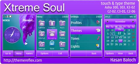 hello kitty themes asha 303 xtreme soul theme for nokia asha 300 303 x3 02 c2 02