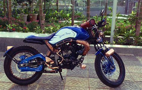 Modification Of Bike In Mumbai by Yamaha Fz To Rising By R G Customs Mumbai