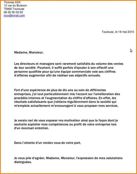 Lettre De Motivation Lettre Type Gratuite 8 Exemple Lettre De Motivation Gratuite Format Lettre