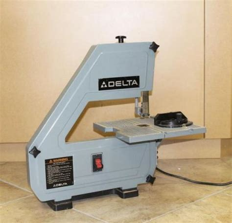 delta bench band saw delta 28 160 bench top band saw 1 5 hp with six unused 56