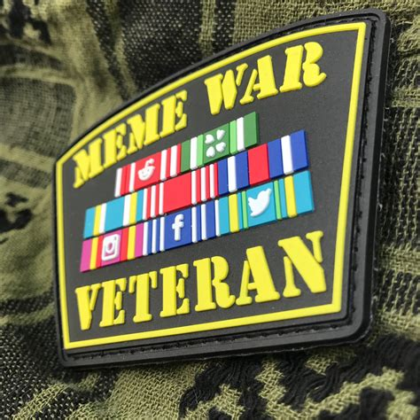 Meme War Veteran - quot meme war veteran quot pvc patch 183 tacticool imaging 183 online